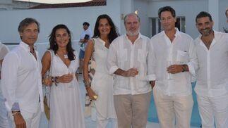 Jorge Manrique, María Casas, Sara Bascones, Francisco  Merello, Adolfo Serrano y Matías Urrea.  Foto: Ignacio Casas de Ciria