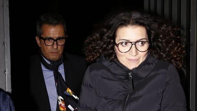 Buenafuente, Silvia Abril y Risto también acudieron a la fiesta.