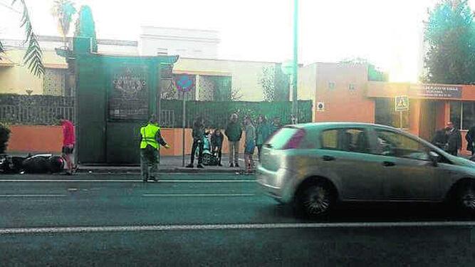 Paso de cebra del PortaceliUn punto negro en la seguridad vial