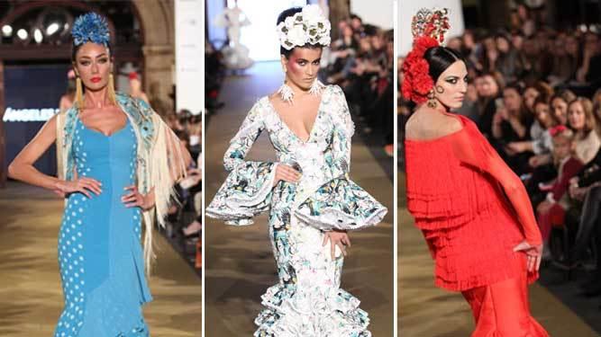 Desfiles de We Love Flamenco 2017  BELÉN VARGAS ... b4f80afa3c868