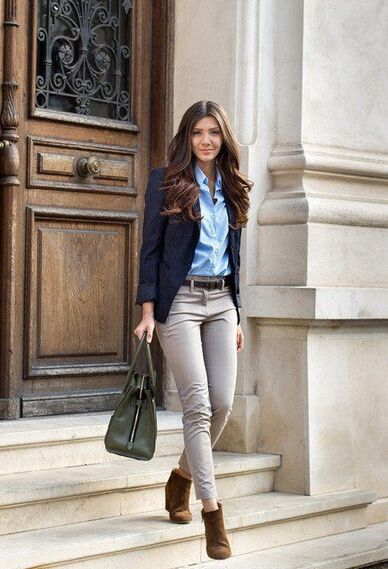 Outfit para ir a trabajar en otoño - Outfit