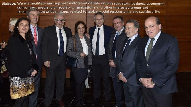 Yolanda Sánchez, Germán del Real, José Sánchez Maldonado, Carmen Castreño, José Joly, Ángel Gallego, Antonio González y Luis Miguel Martín Rubio.
