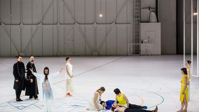 Representación de 'Così fan tutte' en la Ópera Garnier.