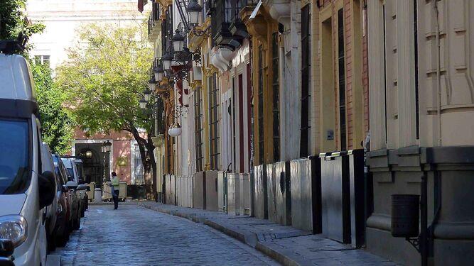 Recta para el 39 cruj o 39 y la zancada for Calle castelar