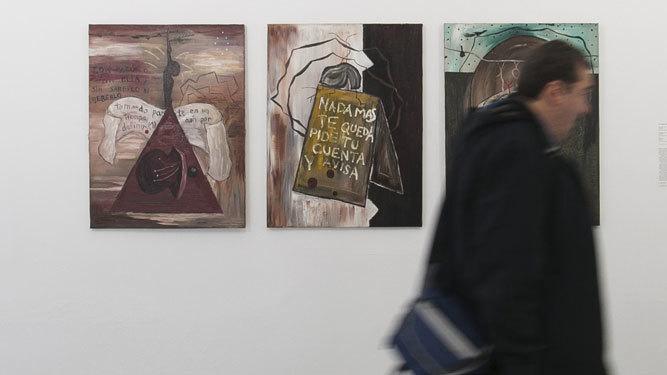 Obras de Guillermo Paneque.