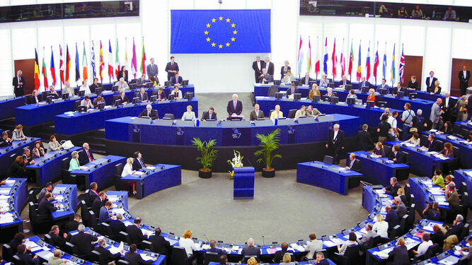 Resultado de imagen de pleno parlamento europeo