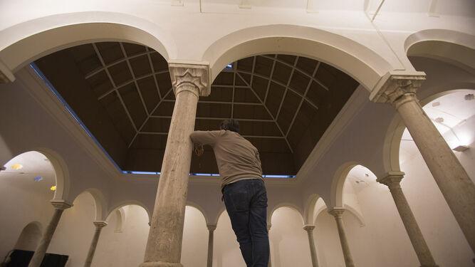 Los Baños de la Reina Mora que serán objeto de unas obras de rehabilitación tras la Semana Santa.