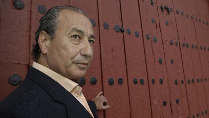 Manolo Cortés, en la Maestranza.