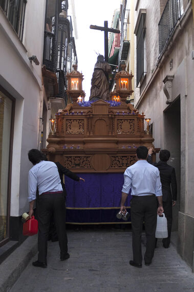 El Cristo de la Corona, en imágenes
