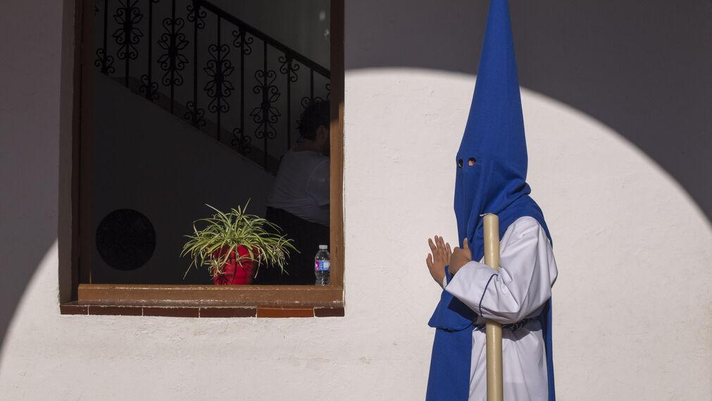 Un nazareno de La Misión, de Heliópolis.