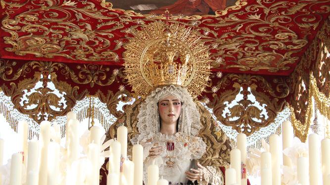 La Virgen de las Mercedes, de Santa Genoveva.