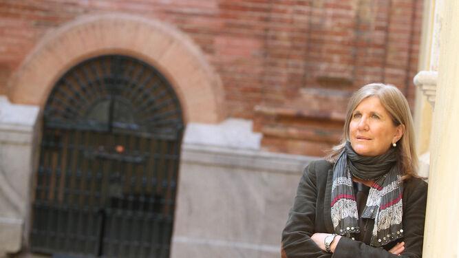 Amidea Navarro vive intensamente el Jueves Santo con la hermandad de Pasión.