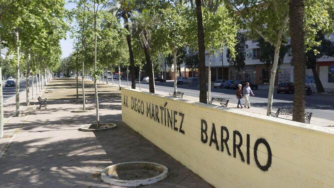 Avenida con el nombre del sevillano que presidió el Gobierno, las Cortes y la República.
