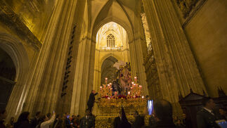 Madrugada en el interior de la Catedral