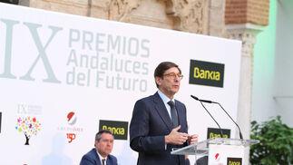 José Ignacio Goirigolzarri, en un momento de su discurso.