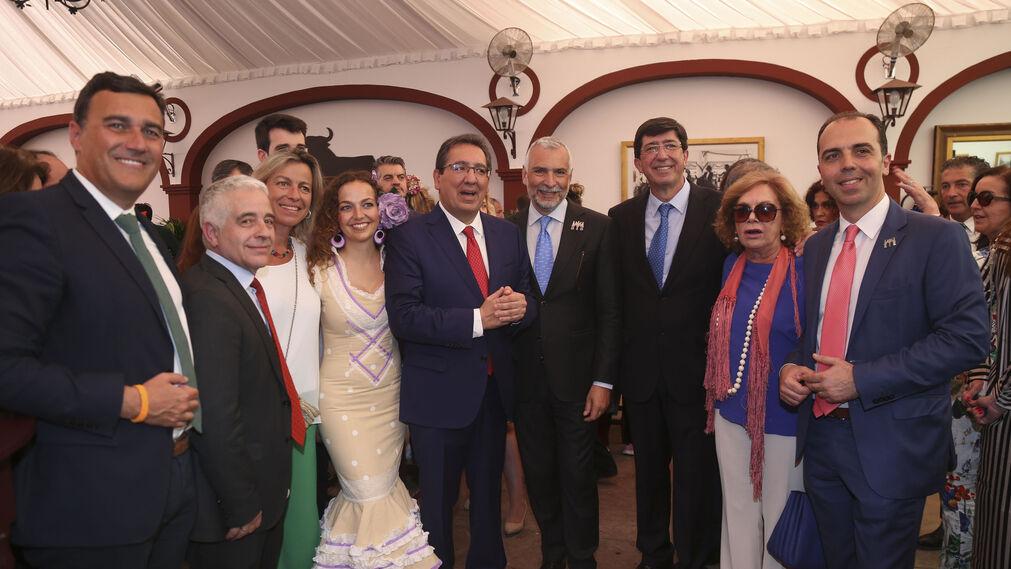 Carlos Hernández White, José Antonio Funes, Isabel Albás, Marta Escriván, Antonio Pulido, Stefano Sannino,Juan Marín, Amparo Rubiales y Javier Millán.