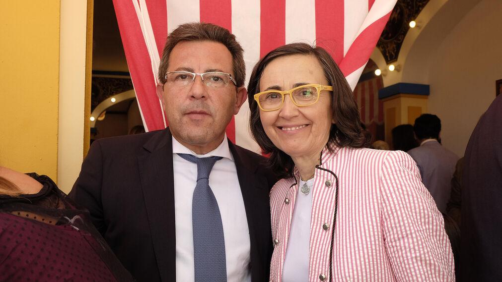 Alberto Díaz y Rosa Aguilar.