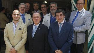 Ignacio Lloret, Jesús Estela, Pedro Ordóñez, Adolfo González, José María Morillo, Salvador Pérez, José Ramón Navarro, José Alonso y Manuel González.