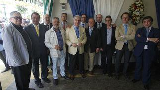 Pablo Ruiz, Ignacio Flores, José María Morillo, Adolfo González, Jesús Estela, José Alonso, Ángel Requena, Salvador Pérez, Joaquín Moeckel, José Ramón Navarro y Manolo Martínez.