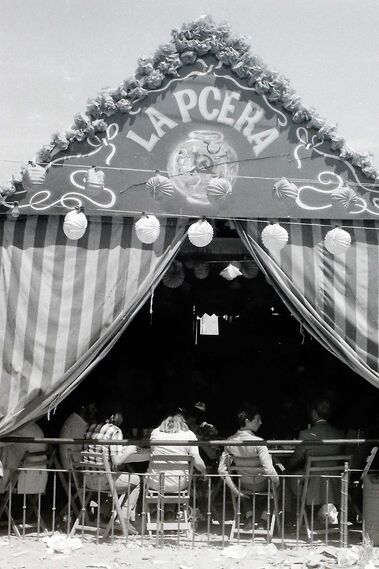 La Feria de los 70: Casetas políticas
