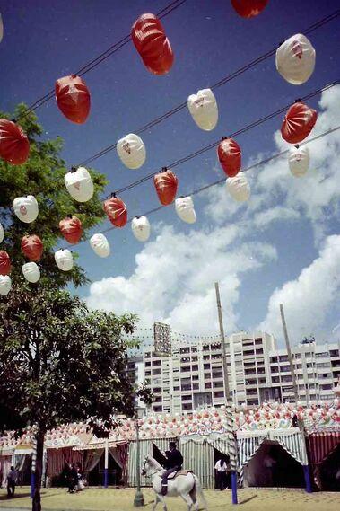 La Feria de los años 80, a color