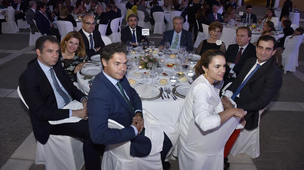 Daniel Fernández, José Moya Yoldi, Reyes Sosa, Joaquín Cuesta, Francisco Romero Román, Antonio Moreno Andrade y señora, José Luis Ballester, Rafael Monsalves y Esperanza Borrero.