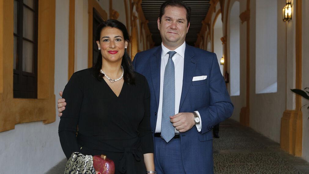 Lourdes Moreno y Juan Moya.