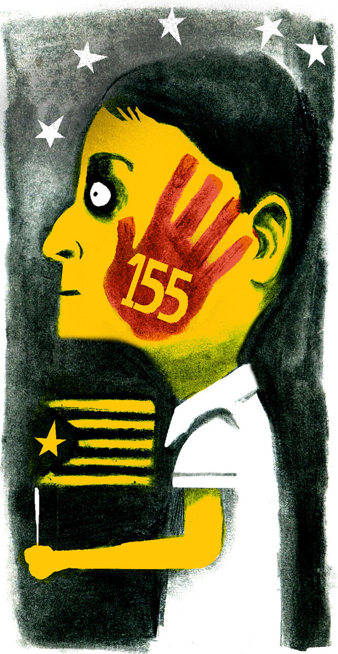 ¿Por qué no el artículo 155?