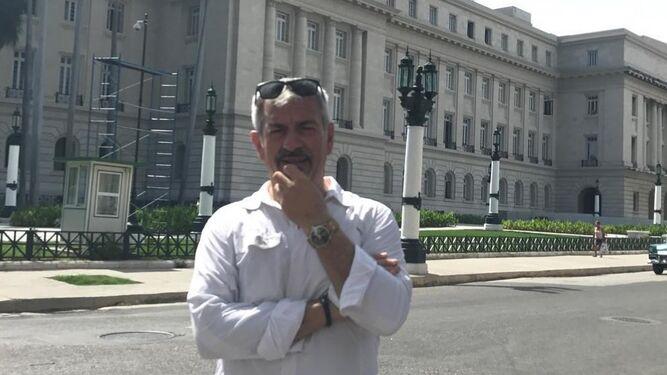 Carlos Sobera, de turismo en La Habana.