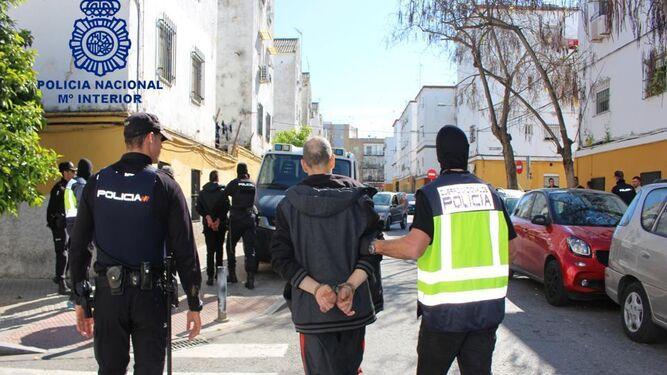 Detenciones en la redada de marzo.