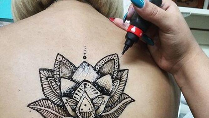El Tatuaje De Jagua Alternativa A La Henna