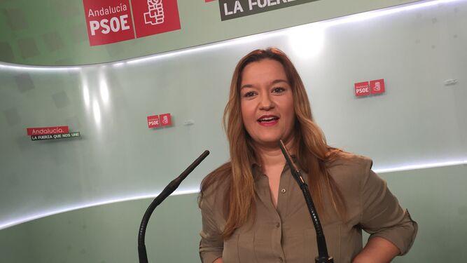 La actual secretaria y ya única aspirante, Verónica Pérez.