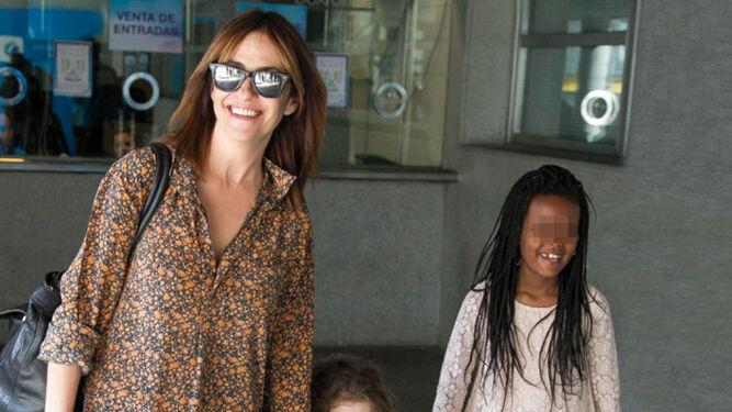 Melanie Olivares trajo a Martina de Etiopia hace diez años.