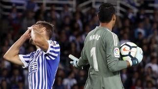 Las imágenes del Real Sociedad-Real Madrid