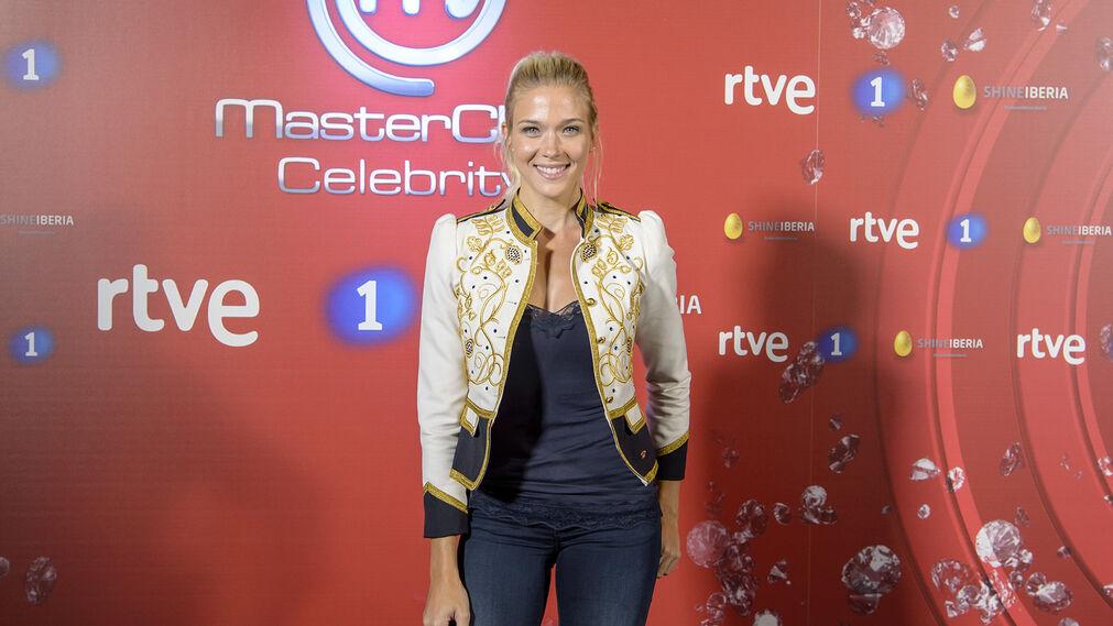 Patricia Montero. Rostro muy conocido en televisión, la guapa actriz pretende darse a conocer al público gracias a MasterChef.