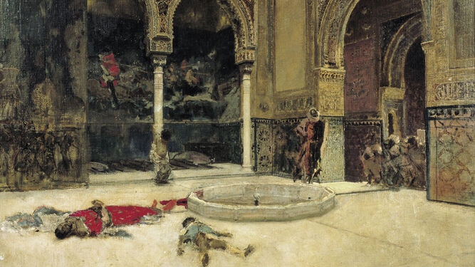 'La matanza de los Abencerrajes' (MNAC, 1870).