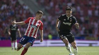 El Atlético de Madrid-Sevilla, en imágenes