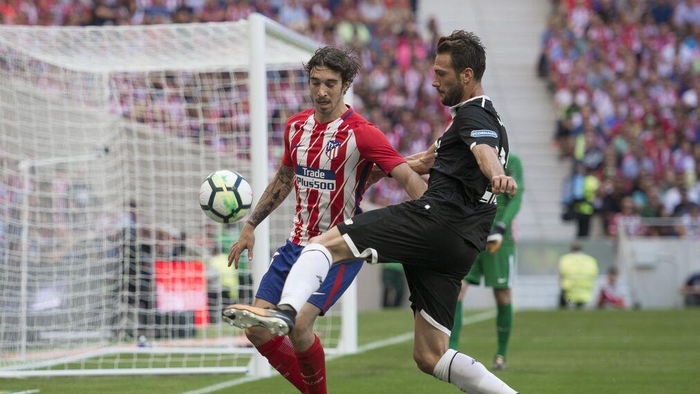 Imágenes del Atlético de Madrid- Sevilla FC