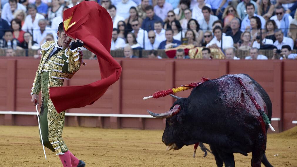 las imágenes de la corrida de la Feria de San Miguel
