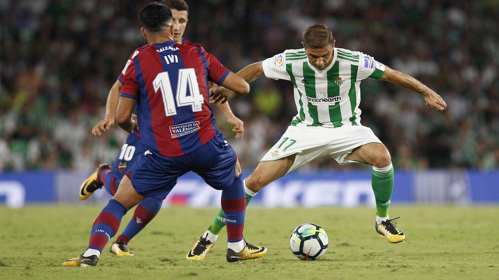 El Real Betis-Levante, en imágenes