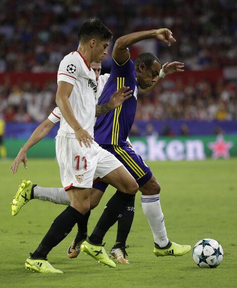 Las imágenes del Sevilla-Maribor