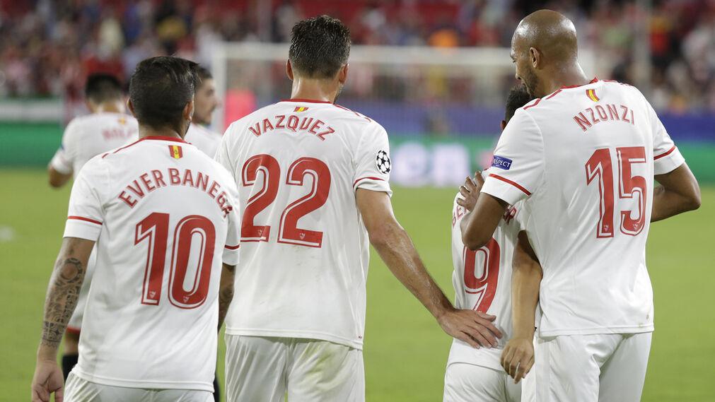 Las imágenes del Sevilla-Maribor.