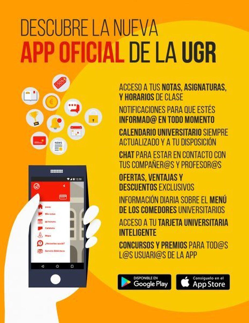 La UGR pone en marcha una \'app\' que conectará a estudiantes ...