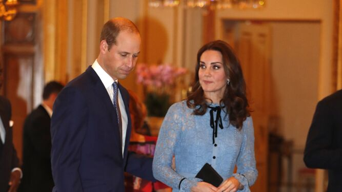 Los duques, en su última aparición pública.