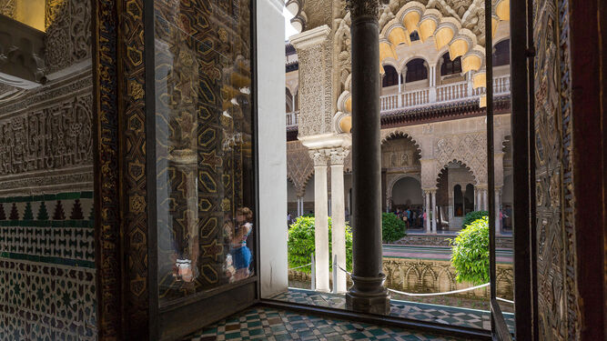 El Real Alcázar es uno de los puntos del itinerario 'Tras los pasos de Murillo'.