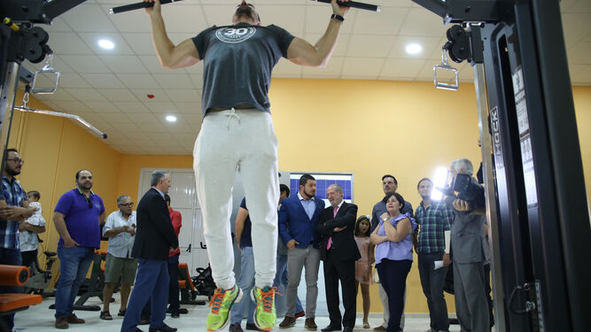 Nuevo gimnasio en El Rubio.