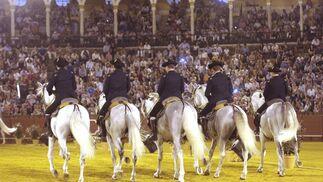 El espectáculo 'Cómo bailan los caballos andaluces', en imágenes