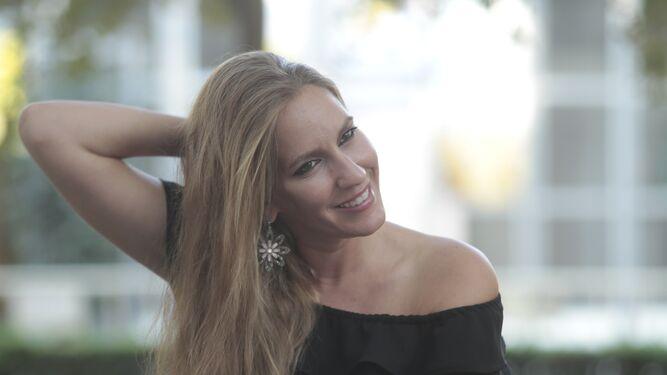 María Rodríguez del Álamo, conocida por su nombre artístico, María Toledo, fotografiada antes de realizar esta entrevista.