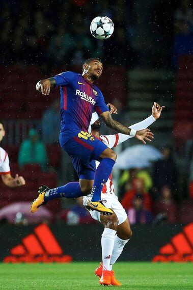 Las imágenes del Barça-Olympiacos