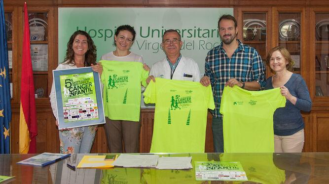 Presentación del evento en el Hospital Virgen del Rocío